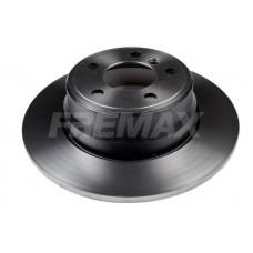 Brake disc, rear BMW X5 E53