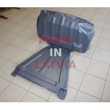 Engine protection plate Subaru Forester IV (SJ) (2012-2015) (EPS)