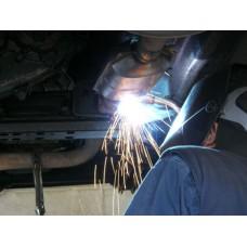 Exhaust system repair Muffler repair